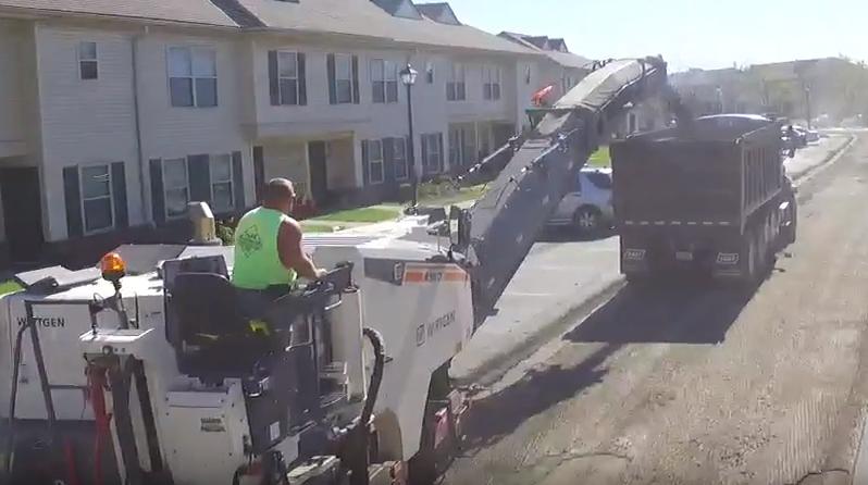 Park Enterprise Construction asphalt milling
