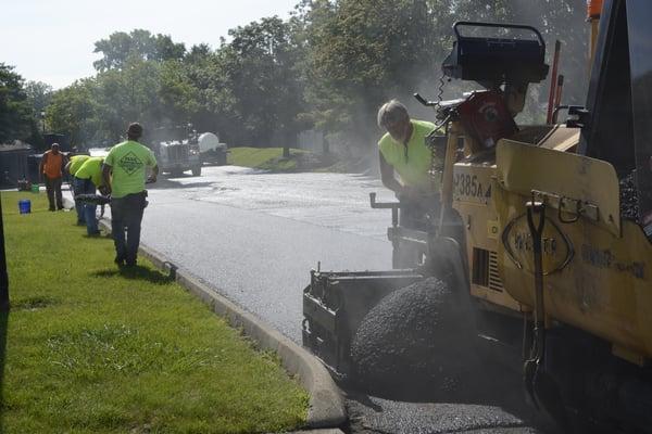 repave asphalt lot