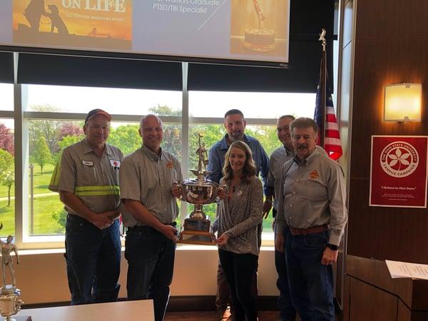 Park enterprise construction wins an award