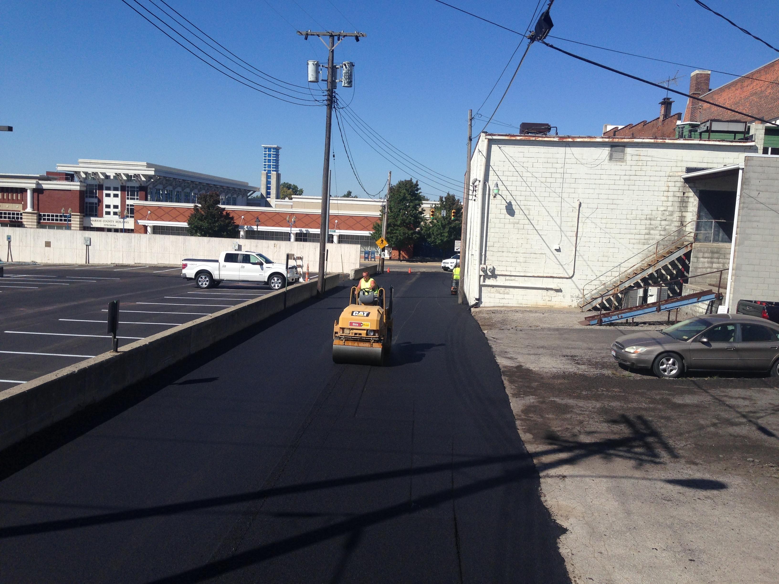 Park Enterprise Construction asphalt parking lot