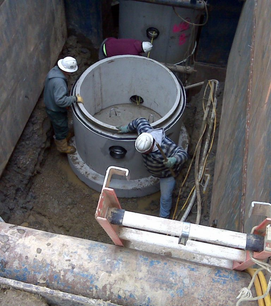 underground utility construction