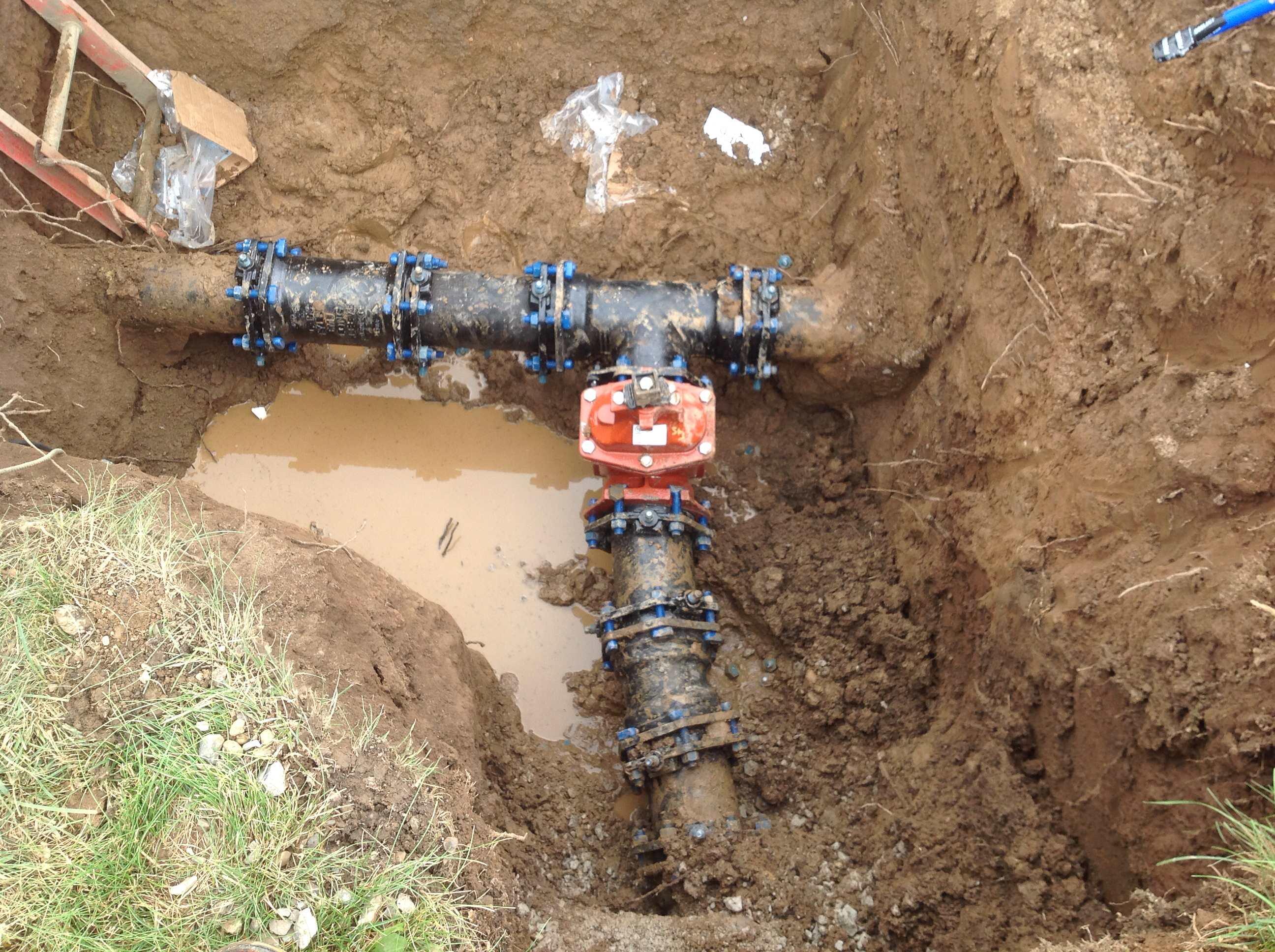 underground water leak