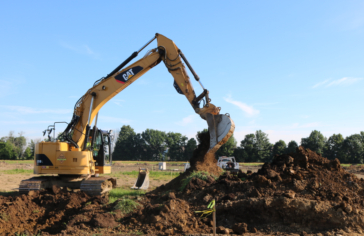 Commercial sitework costs