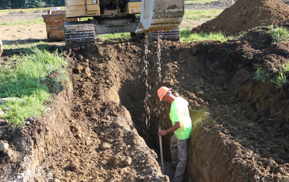 trench backfill material
